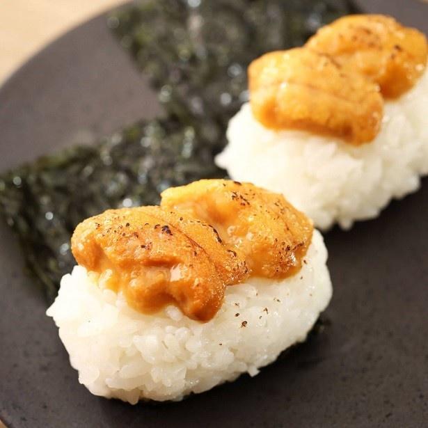 【写真を見る】一度は食べたい「ウニギリ」