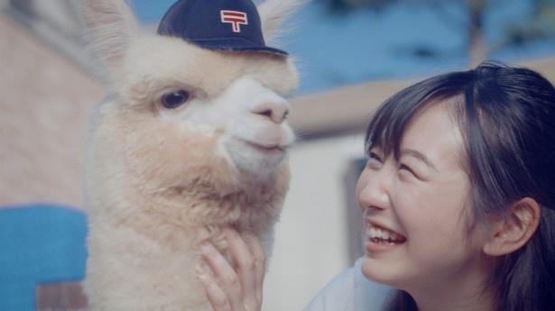 「ゆうパック」のWebムービーに岡本夏美が出演
