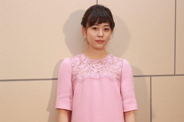 20歳の木南愛菜役の高畑充希