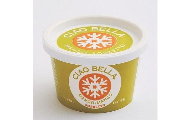 世界的に有名なインド産のアルフォンソ・マンゴーを使用。とてもリッチで豊かな味わいが魅力! 「マンゴソルベ」