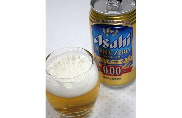 """アサヒ ポイントゼロのパッケージはとても""""ビール""""な雰囲気"""