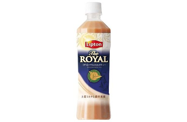 「リプトン ザ・ロイヤル」の500mlペットボトル
