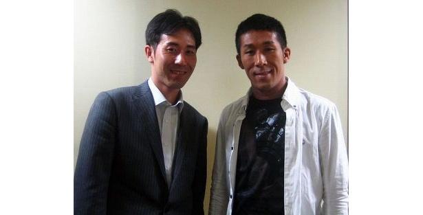 田村研一氏(左)と田村裕氏(右)