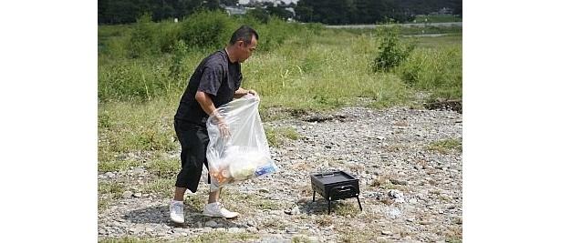 最後は片付けやゴミ掃除もしてくれる