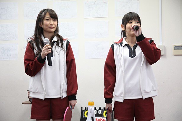白熱の戦いに今村彩夏と東城日沙子も大興奮!「灼熱の卓球娘」イベントレポート