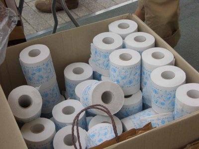 トイレットペーパー…使ってしまっていいのでしょうか