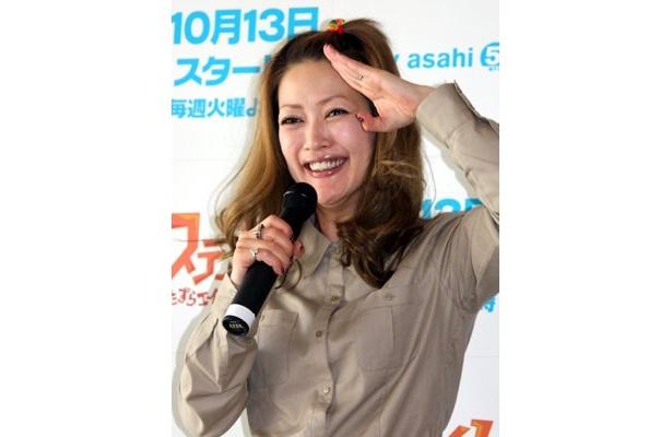 第2話(10/20放送予定)でキャラクター「ブリークリー」の母親役で声優にチャレンジしたという松嶋さん