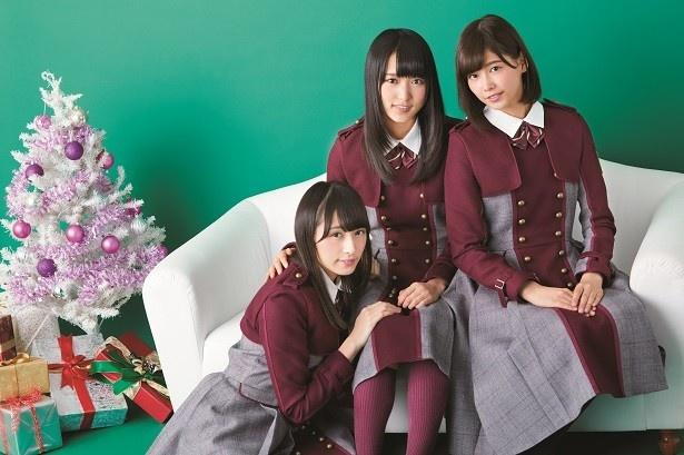 【写真を見る】クリスマスシーズン(=セゾン)も近づき、3人がクリスマスの思い出を告白!