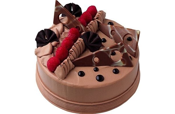 「チョコレートステート」(3300円〜) 。直径約16cm×高さ約5cm