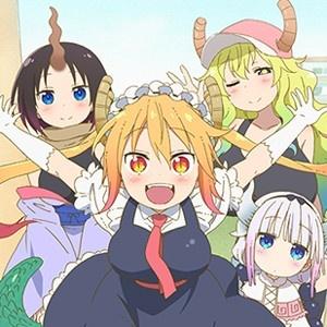 1月アニメ「小林さんちのメイドラゴン」最新キービジュアルが公開!PV第1弾ではドラゴン娘の変身シーンも