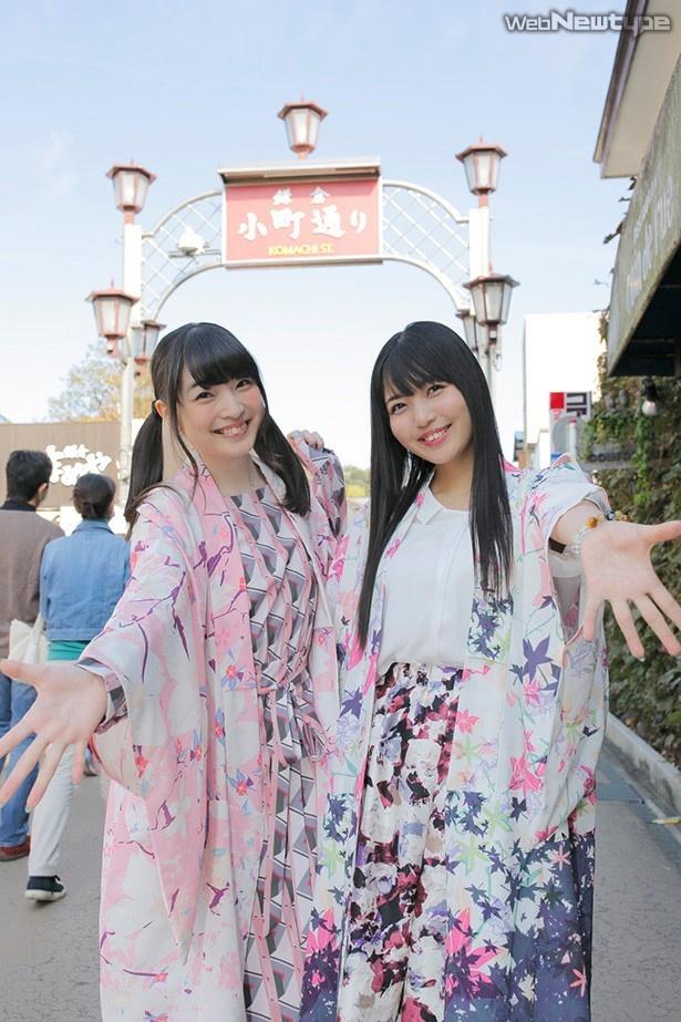 上田麗奈フォトコラム特別編・鳴子とはっぴと思い出の商店街で