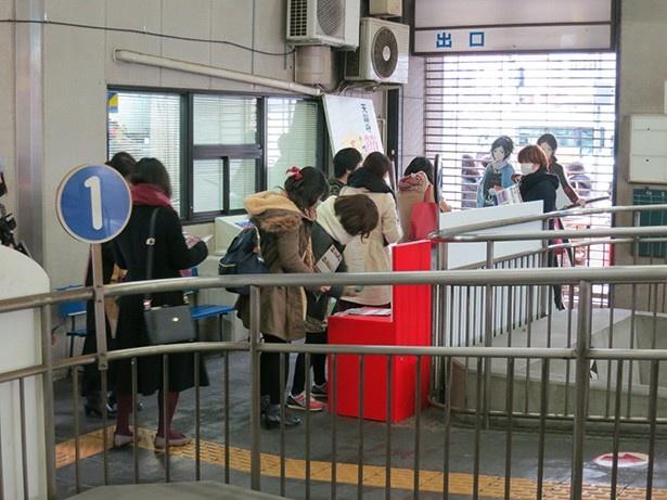 「刀剣乱舞-ONLINE」スタンプラリー第2弾が1月21日から開催。全収集でオリジナル缶バッジプレゼント!