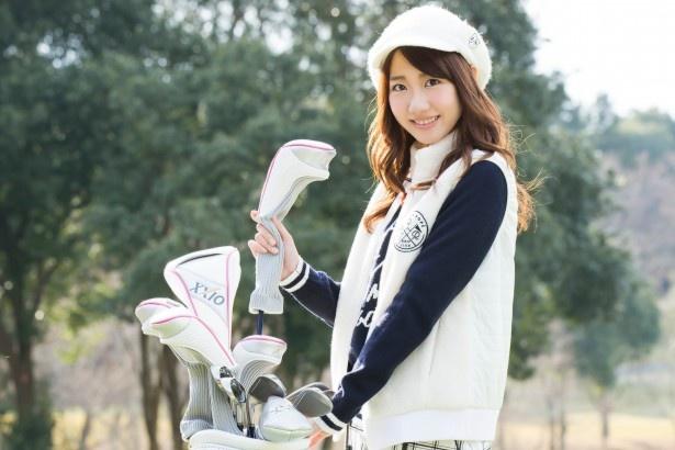 ゴルフウェア姿が可愛すぎる柏木由紀さん