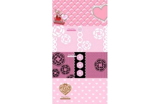 ピンクがベースの姫系Ver.