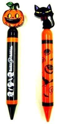こちらはカボチャとくろねこの「ハロウィンボールペン」
