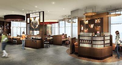 オシャレな住宅街に登場するたまプラーザテラス店。限定のコーヒー豆や抽出器具も販売される予定