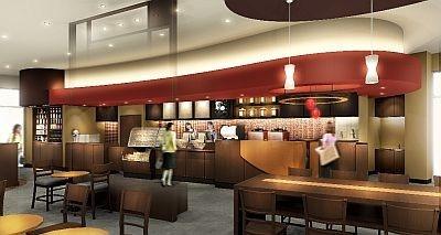 駅からすぐという立地も魅力の「スターバックス コーヒー たまプラーザテラス店」