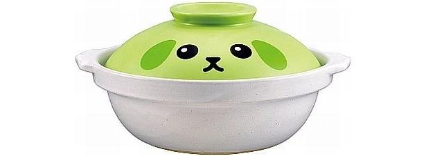 フタにデザインされた「豆しば」がかわいい! B賞「あったか土鍋」(全1種)