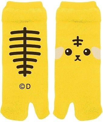 """和風テイストを盛り込んだ""""足袋型靴下「虎豆しば」"""