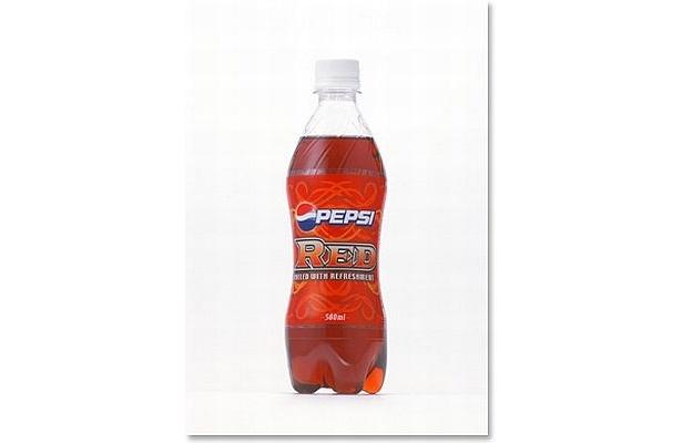 刺激的でスパイシーな味わいが特長の「ペプシレッド」は2006年6月に発売