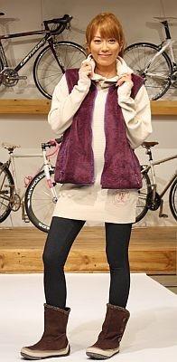 【里田さん登場のファッションショーの様子はコチラ】