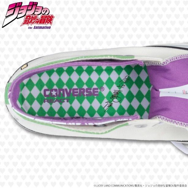 ファンならニヤリなギミックが満載!「ジョジョ」x「コンバース」コラボスニーカーが登場