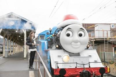 12月17日よりスタートしたイベント「大井川鐵道 Day out with Thomas クリスマス特別運転2016」を「C CHANNEL」クリッパーの横田彩夏さんがレポート!