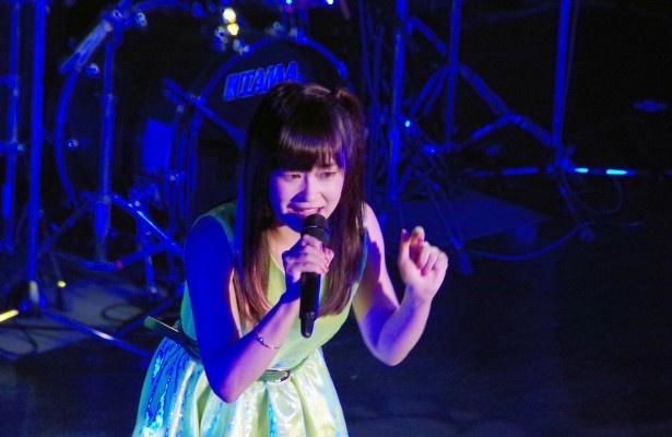 6番手は大和姫呂未で、「虹」(オリジナル)
