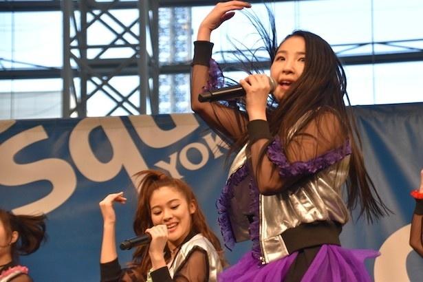 横浜出身の紫担当・MISAKI
