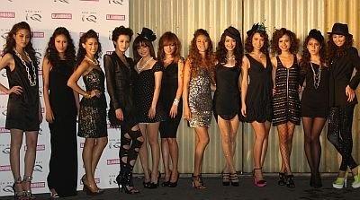 イベントに登場した総勢12人のモデルたち
