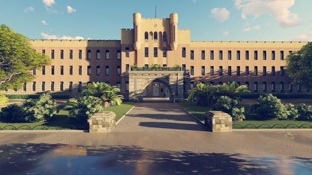 歴史的建造物の旧第四師団指令部庁舎(元大阪市立博物館)