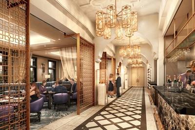 レストランは2階、3階、屋上の3フロアで展開する予定