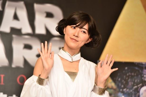 今回のアンバサダーを務める、SKE48 松井珠理奈