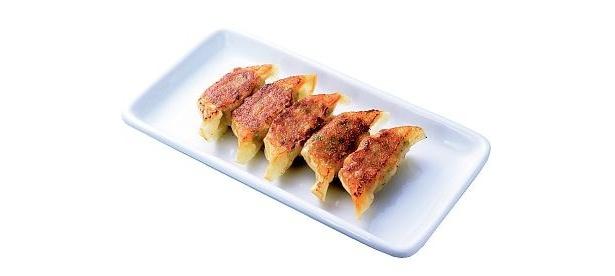 グザイすべてが国産野菜の新「ぎょうざ」は今年4月から全国店舗で発売している