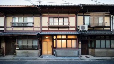 元離宮二条城の近くの町家長屋を改装した姉西庵