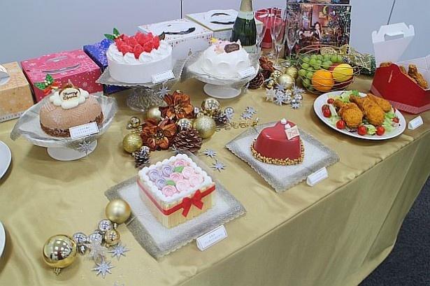 セブン-イレブンの華やかなクリスマスケーキ
