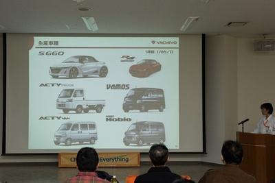 八千代工業が受託生産する車の種類