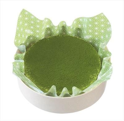 「濃厚お抹茶のチーズケーキ」(1728円)