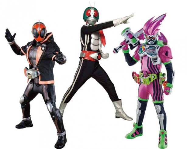 日本のヒーローの歴史を変えた仮面ライダーの45周年を記念したエキシビジョンショップが期間限定で登場!