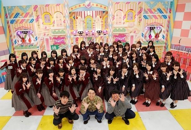 乃木坂46と欅坂46が「乃木坂工事中」SPでバラエティー初共演!