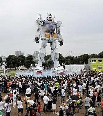 グッドデザイン大賞の候補となった「GREEN TOKYO ガンダムプロジェクト」