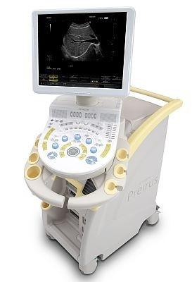 日立メディコの汎用超音波画像診断装置「デジタル超音波診断装置 HI VISION Preirus」