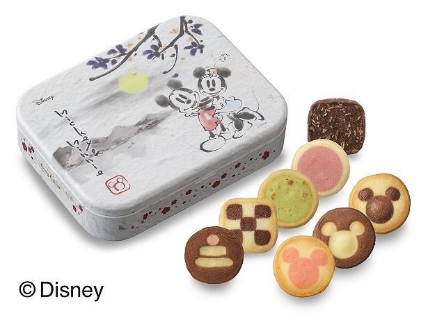 「<ディズニー>新春クッキー缶 (8種16個入)」