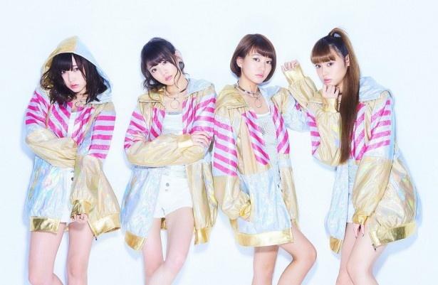夢みるアドレセンスの京佳、志田友美、荻野可鈴、山田朱莉(写真左から)