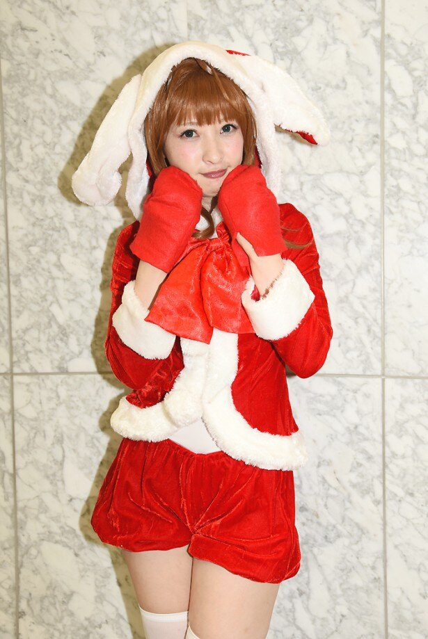 【写真20点】サンタ衣装の美人コスプレイヤーがずらり!「コスプレ博 in TFT」Xmasスペシャル突撃レポ