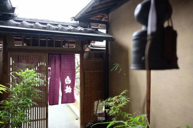 旅館部門1位 京都の「料理旅館 白梅」