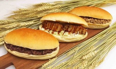 木古内町産の素材を使った数量限定コッペパンも3種類。どれもボリュームがある