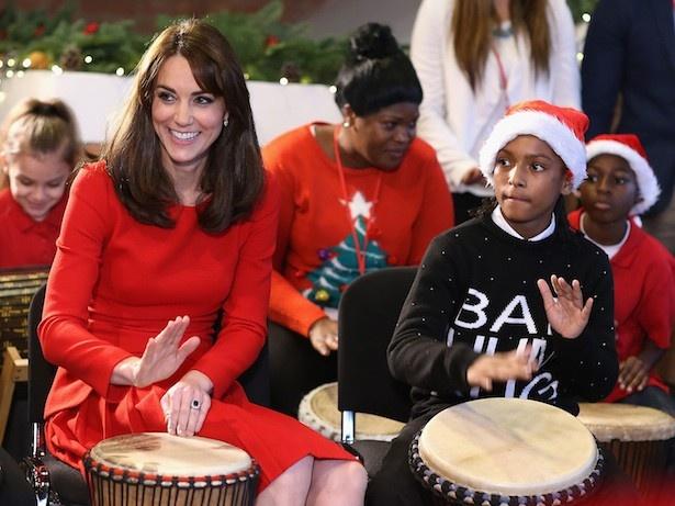 キャサリン妃のクリスマスファッションに注目が集まっている