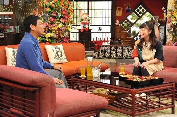 1月2日(月)の「新春大売り出し!さんまのまんま」(昼3:45-夜6:30フジテレビ系)に出演する高畑充希