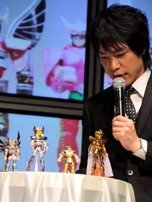 レアなフィギュアも登場し、「ゴールドセイントが印象的だった」と語る川島さん
